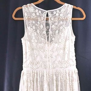 "Anthropologie Dresses - Anthro: BHLDN - NWOT ""Eliza"" Beaded Wedding Dress!"